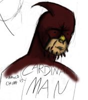 Cardinal Man by Steven--RE-Volver