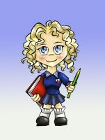 Chibi me by aliceazzo