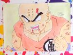 krillin, finish by vegeta-x-akira