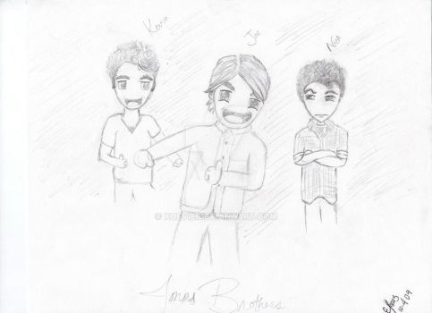 The JoBros by xoevie