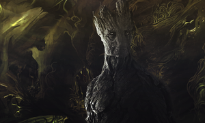Groot - Guardians Of The Galaxy by rosemarie5