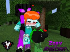 Zoey in Minecraft - Pesky Mobs by PlayboyVampire