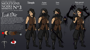 LuhDiir - Black Sheeps design reference 3 by Elwensa
