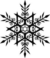 snowflake tattoo by listaspiran