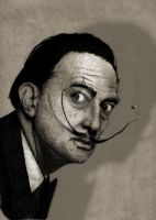 Salvador's Dali Portrait. by barruf