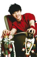 {PNG} D.O - EXO by Heoconkutecu