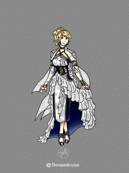Final Fantasy XV - Lunafreya by ThemawtArcsion
