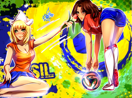 World Cup Girls - Netherlands vs Chile by CherryInTheSun