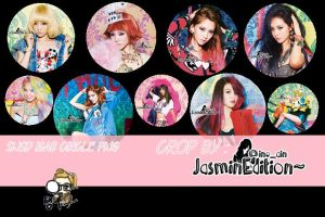 SNSD I GOT A BOY CIRCLE [RENDER] by JasminEdition