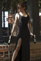 Lara Croft - TR III - Dress 05 by ImeldaCroft