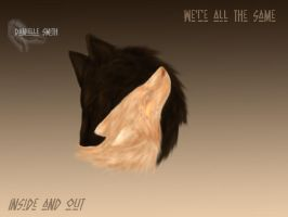 We are the same by darkwolf1984