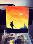 Links Adventure (Legend of Zelda Oil Painting) by INVESTOR-MUSIC