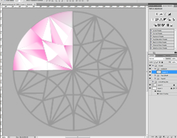 Pink Crystal by DrawDesign