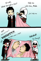 Altair something to show Malik by Hikari-15-L