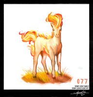 Ponyta!  Pokemon One a Day! by BonnyJohn