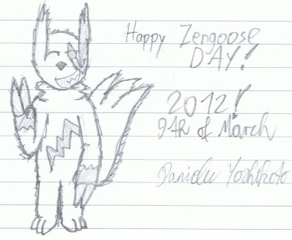 Happy Zangoose Day by DanieluYoshikoto