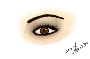 Realistic Eyes by rosethorncams14