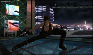 Back in the City - Lara Croft by andersoncathy
