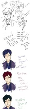 Gintama OC - Zenshi - WHAT COLOR IS HIS HAIR by Equestrian-Equine