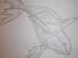 Realistic Kyogre by drgknot
