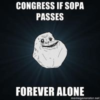 Congress is Forever Alone by PurplePhoneixStar