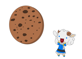 Baah and a Big Cookie by IAmRedStar