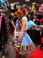 Rainbow Dash Cosplay by StealthNinja5