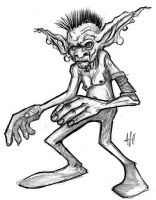 Goblin Doodle by ArmaniStyles