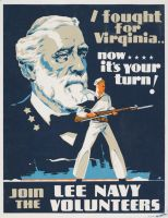 Lee Navy Recruitment Poster by OddGarfield