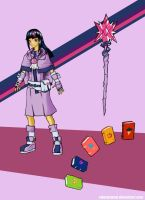 Humanized Twilight Sparkle RPG Style by ValorNomad