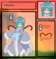 [PM] Chiyoko's Application by Hollowolfpup