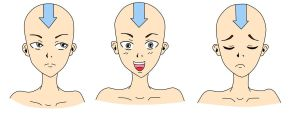 Aang headshoot -EDIT- by ShiNoKamaHana