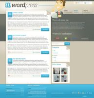 Wordpress by sinthux by webgraphix