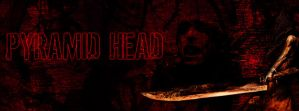 Pyramid Head Facebook Timeline - With Font by DremoraValkynaz