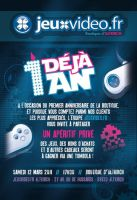 Flyer Jeuxvideo.fr by JFDC