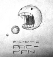 Galactic Pac-Man by Inquisitor-No-7