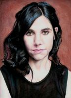 PJ Harvey by Pevansy