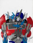 Art Trade - RC and Prime by MNS-Prime-21