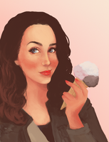Ice Cream by RaynaCendre