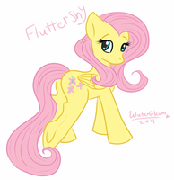 Fluttershy by WaterGleam