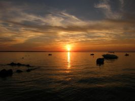 Croatia at the sunset. by violetda