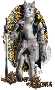 Commission - Knight Silver Gunn by FuriarossaAndMimma
