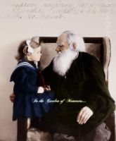 Tolstoy with granddaughter by olgasha