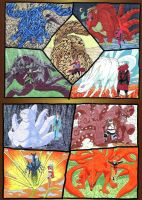 The Jinchuuriki and their Biju by Abyss1