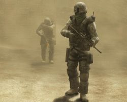 Dust Storm by JohnnyMo1