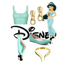 Modern Disney Outfits- Jasmine by brie-grimes-twd