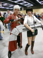 Dante and Lady by CyberIncision