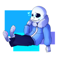 Sans by Chaos-Illusions