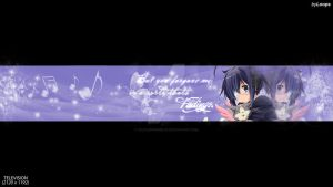 In a world thats fading [YT BANNER] by xXLolipopGurlXx