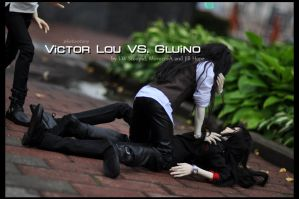 Victor Lou VS. Gluino - photostory - by I-W-Stoopid
